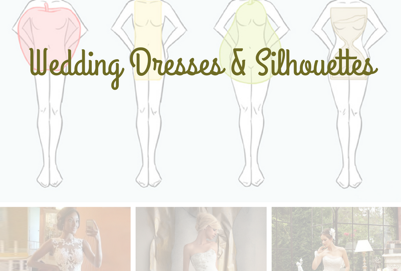 wedding-dresses-silhouettes