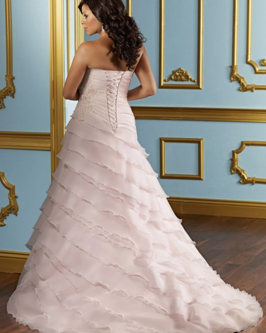 Bonnie plus size wedding gown