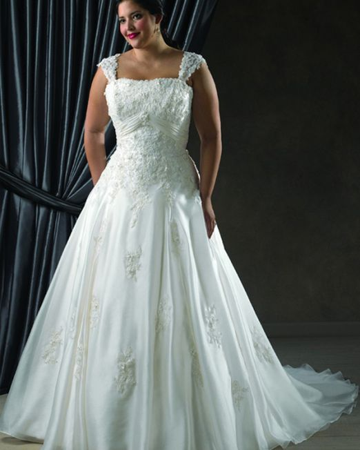 Candice wedding dress plus size